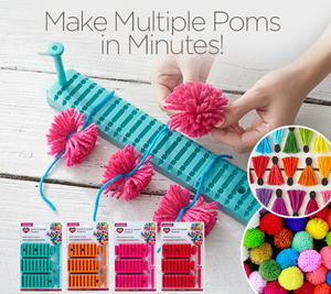 Red Heart Pom Maker Set Giveaway