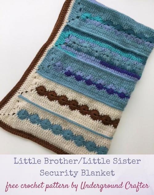 Little Brother Little Sister Security Blanket