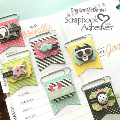 DIY Flag Planner Embellishments