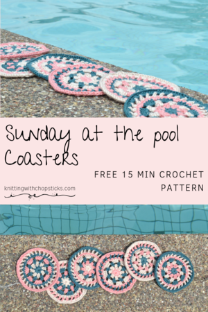 Sunday at the Pool Coaster