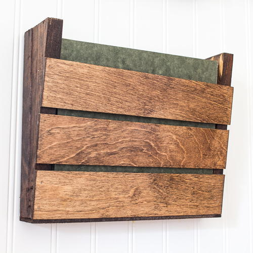 The Super Simple Scrap Wood Wall Organizer
