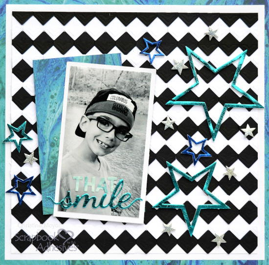 That Smile Scrapbook Layout Idea