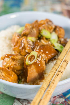Delightfully Easy Slow Cooker General Tso's Chicken