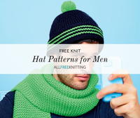 20 Knit Hat Patterns for Men