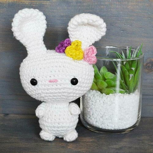 Belle The Bunny Amigurumi Crochet Pattern