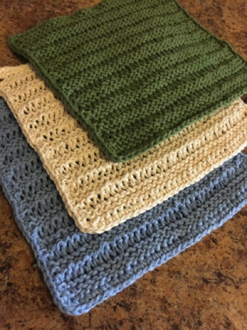 Knitting for Beginners - How to Knit a Dishcloth