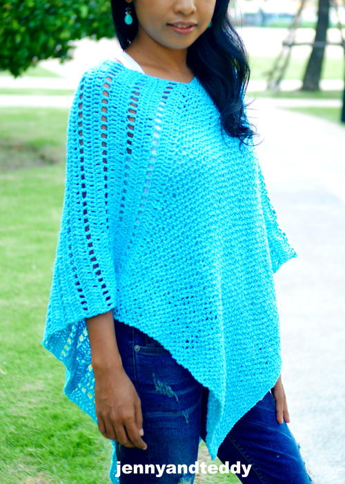 Lilly Easy Poncho