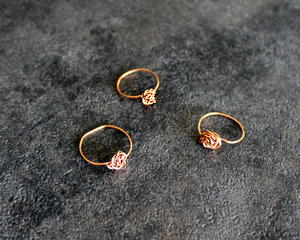 How To Make DIY Wire Stacking Rings