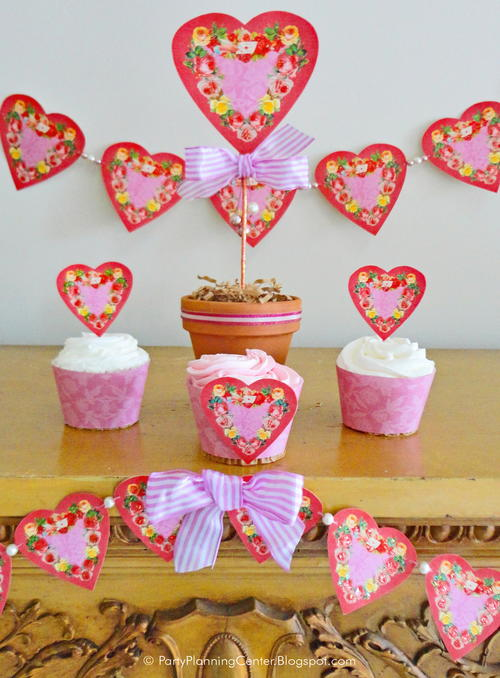 photograph regarding Printable Valentine Hearts titled Printable Typical Valentine Hearts