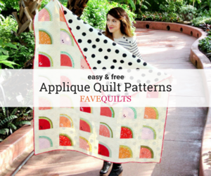 26 Free Applique Quilt Patterns