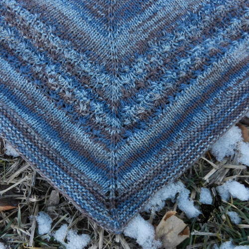 Winter Thaw Shawl