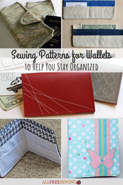 16 Sewing Patterns for Wallets to Help You Stay Organized