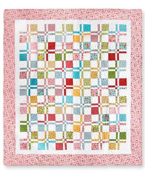 Disappearing Four Patch Quilt Pattern