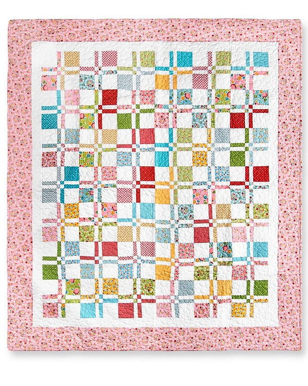 Four Patch Quilt Pattern