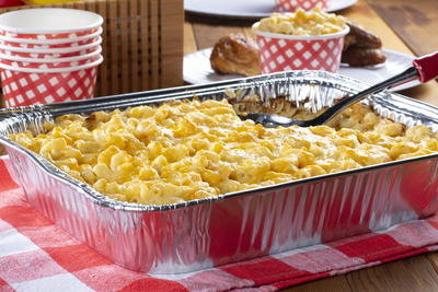 Four Cheese Smoked Mac and Cheese