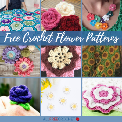 38 Free Crochet Flower Patterns