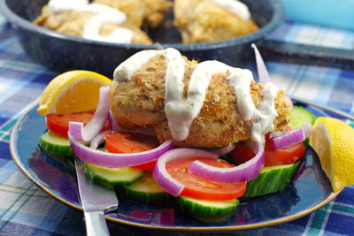Easy Greek Chicken Souvlaki