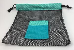 4c314f41d Mesh Shower/Beach Bag   FaveCrafts.com