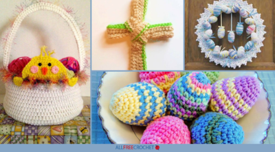 30+ Free Easter Crochet Patterns