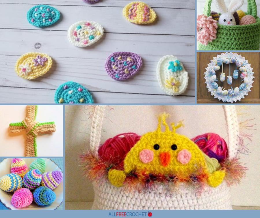 Springtime Friends ~ Baby Chicks /& Eggs crochet patterns