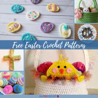 e370fbfae 30+ Free Easter Crochet Patterns