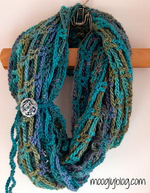 Artfully Simple Infinity Scarf