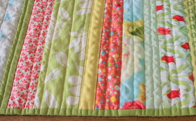 Spring Cottage Quilted Table Runner