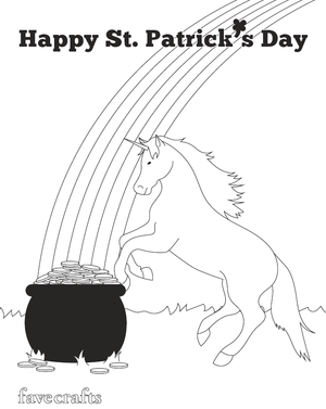 Saint Patrick coloring page: March 17th – Catholic Playground | 377x300