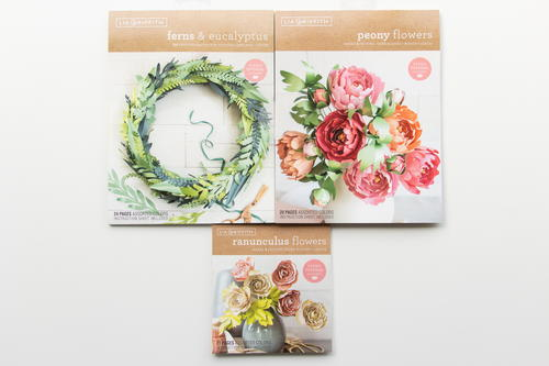 Lia Griffith Frosted Paper Flower Kit Allfreepapercrafts Com