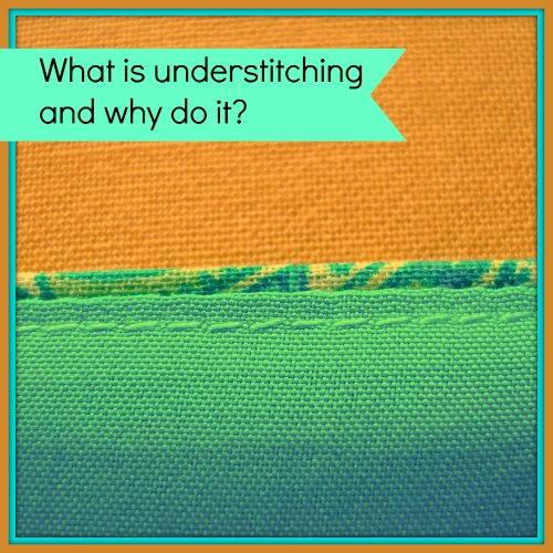 Understitching a Facing, Neckline, or Lining