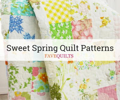 Sweet Spring Quilt Patterns