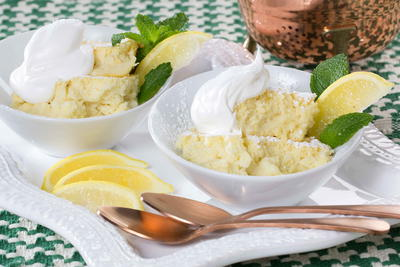 Irish Lemon Pudding
