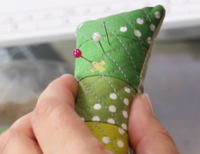 How to Sew a Quilted Pin Cushion