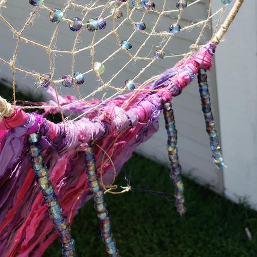 How to Make a Dreamcatcher with Beads