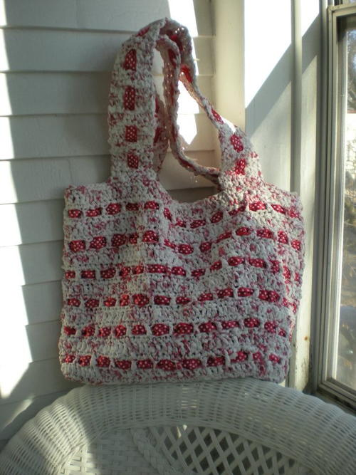 The Cutest Plarn GroceryBeach Bag