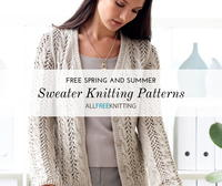 24 Spring and Summer Sweater Knitting Patterns