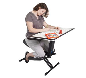 The Edge Desk Ergonomic Adjustable Kneeling Desk Giveaway