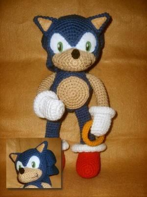 Sonic Plushie Allfreecrochet Com