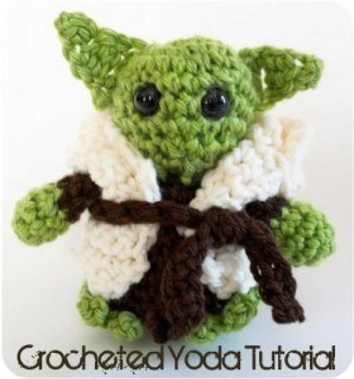 Little Yoda Crochet Tutorial