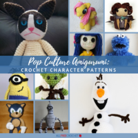 Pop Culture Amigurumi: 30 Crochet Character Patterns