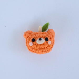 Pumpkin Patch Bear Pin