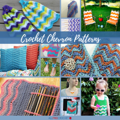 48 Crochet Chevron Patterns