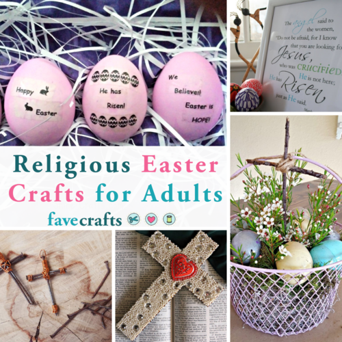 Religious Easter Crafts for Adults