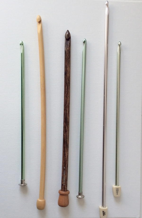 Straight Tunisian Crochet Hooks