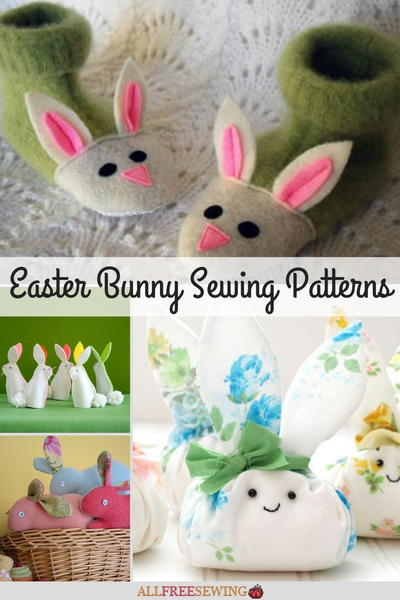 35 Easter Bunny Sewing Patterns