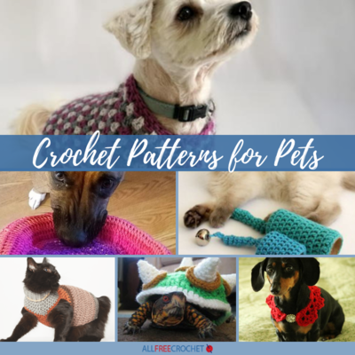 17 Crochet Patterns for Pets