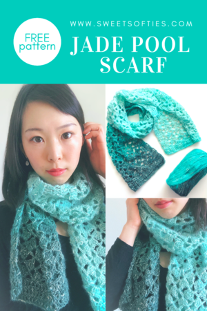 Jade Pool Spring and Summer Scarf