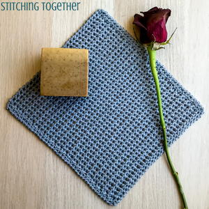 Petite and Pretty Crochet Washcloth