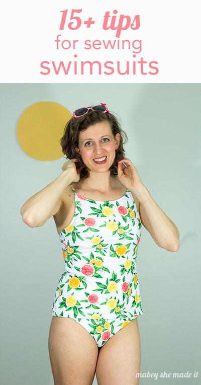15 Tips and Tricks for Sewing Swimsuits