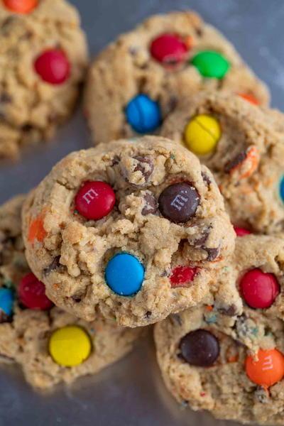 Magnificent Monster Cookies Recipelion Com Interior Design Ideas Tzicisoteloinfo